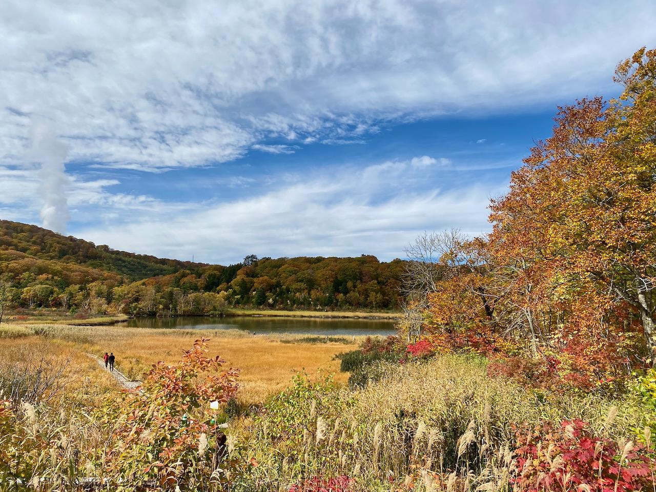 紅葉を楽しみに十和田八幡平国立公園へ。
