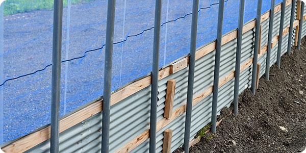 雨水の侵入を防ぐ