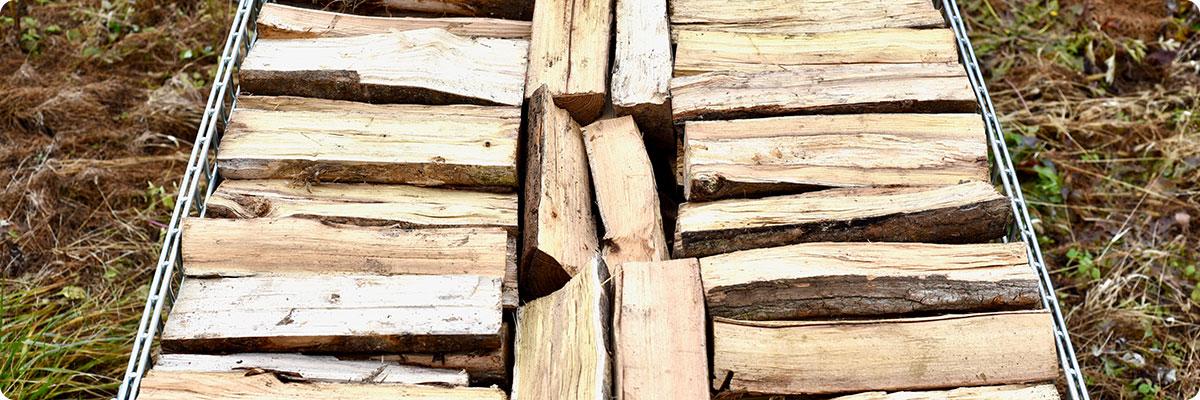 乾燥広葉樹ミックス薪