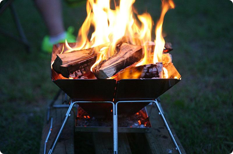 焚き火のたしなみ